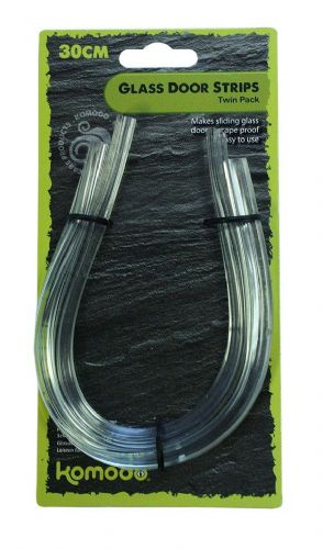 Glass Door Strip 30cm (2pk)